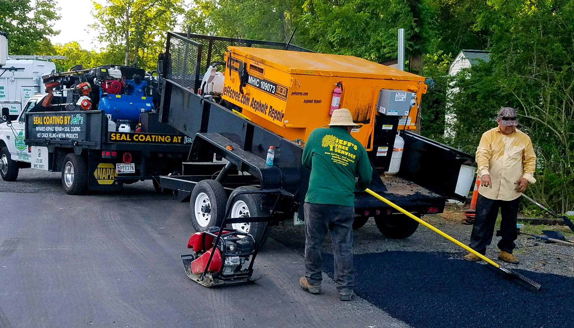 Seal Coating & Asphalt Repair